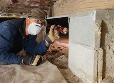 Crawl Space Annual Maintenance, Charlotte, Concord, NC