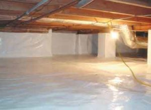 waterproofing your crawl space