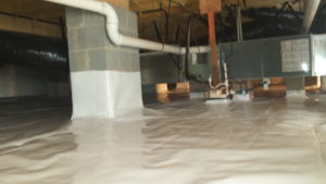 Finished Crawl Space Repair Charlotte, Concord, NC