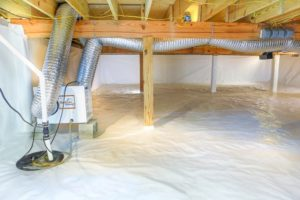 Vapor Barrier, Crawl Space